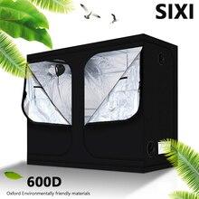 SIXI завод расти палатку Крытый расти коробок по 50/60/80/100/120/150/240/300 см гидропоники растут палатки номер тепличных растений палатки