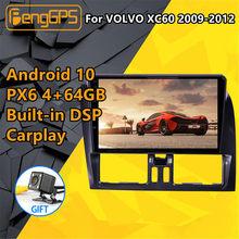 Für VOLVO XC60 2009 2010 2011 2012 Auto multimedia-player Stereo Screen Android PX6 Radio Audio GPS Navigation Kopf einheit BT