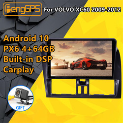 For VOLVO XC60 2009 2010 2011 2012 Car multimedia player Stereo Screen Android PX6 Radio Audio GPS Navigation Head unit BT