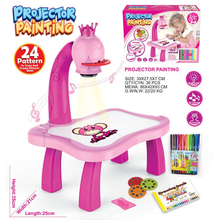 Desk-Toy Projector Paint-Tools Drawing-Table Musical Early-Learning Educational C44 Kids