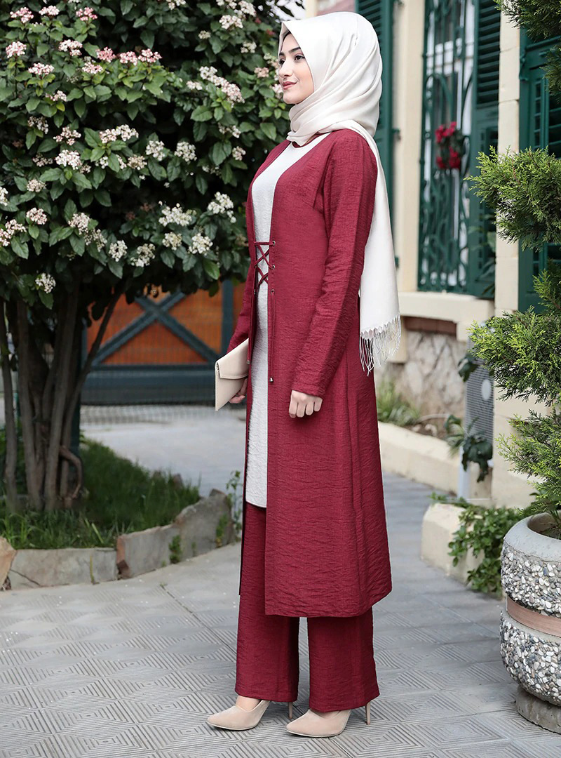 Elegant three pieces muslim sets Worship service robe suits top dress + pants + outer Robes Tunic Jubah dubai Ramadan robes sets Women Women's Abaya Women's Clothings cb5feb1b7314637725a2e7: army green suits|navy suits|only the scarf|wine red suits