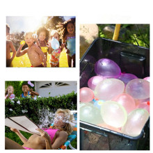 A set of water balloons, fast water, magic, small polo, balloon, artifact, childrens toy, party balloons