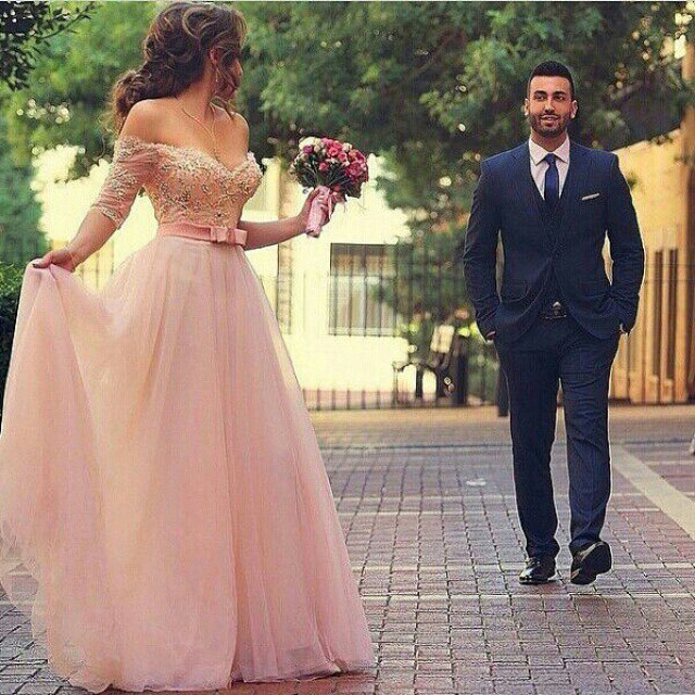 Romantic New Arrival A-Line Wedding Dress 2015 Tulle Lace With Beading Pearls Floor-Length Sexy Backless Vestido De Novia