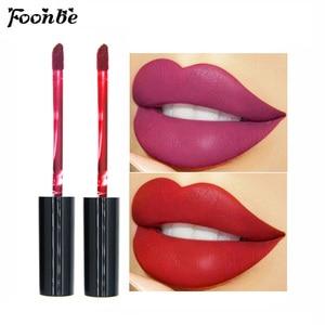 Waterproof Liquid Lipstick Makeup Matte Lip Gloss Long-lasting Cosmetics Lip Stick Cream Silky Glosses Velvet Nude Lipgloss 1Pcs(China)