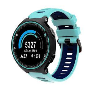 Image 5 - 22mm opaska na rękę dla garmin forerunner 735xt/220/230/235/620/630 silikonowa bransoletka sportowa Watchband silikonowa bransoletka z paskiem wymiana Sma