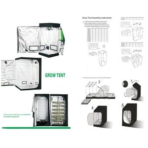 Image 5 - Tienda de campaña de cultivo de plantas de interior Yabstrip de espectro completo para flores de invernadero luz led Fito lámpara carpas Caja de cultivo kit fitolampy