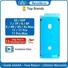 Leoleo Премиум ЖК-экран клейкая водонепроницаемая подушечка под Печать Клейкая лента наклейка для iPhone 5S 6G 6 Plus 6S Plus 7G 7 Plus 8 Plus X XR XS Max