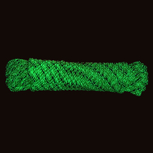 50m Reflective Luminous Tent Rope Fluorescent Green Cord  Outdoor Camping Hiking Tent Accessories