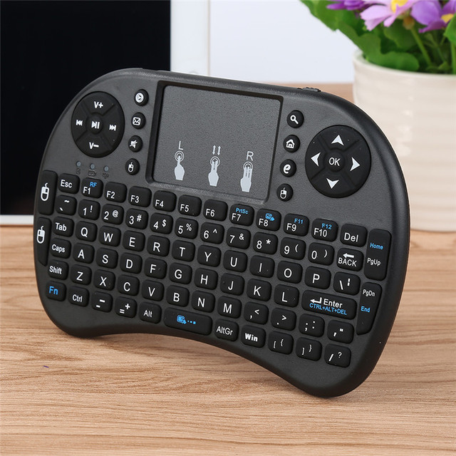 Portable Keyboard 2.4G Mini Keyboard Handheld High Sensitive Smart Touchpad Keyboard Air Mouse For Android Smart TV Set-Top Box 2