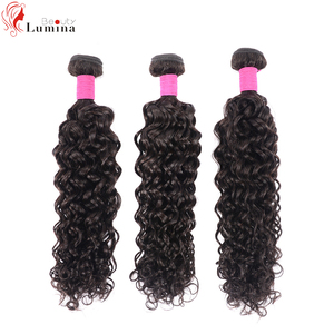 100% Human Hair Bundles Water Wave Bundles Beauty Lumina Remy Hair Weaves 10 To 18 Inch Natural Hair Extensions For Black Women