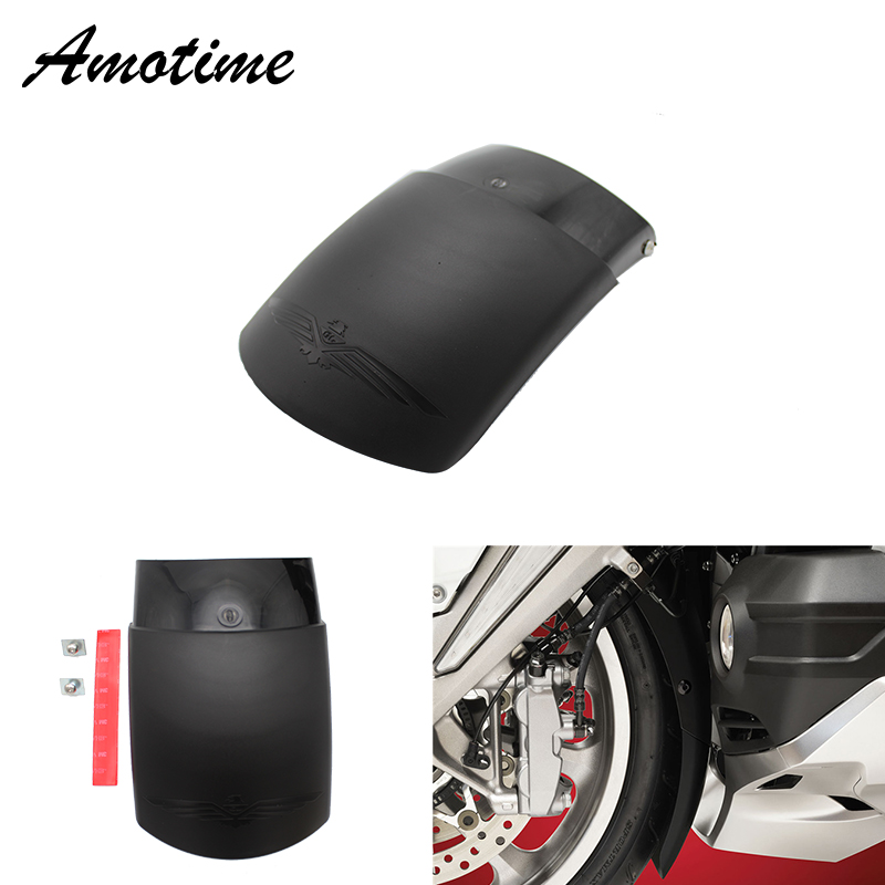 ABS Plastic Motorcycle Front Mudguard Fender Extender Extension For HONDA 2018 GL1800 Goldwing 2018 2019