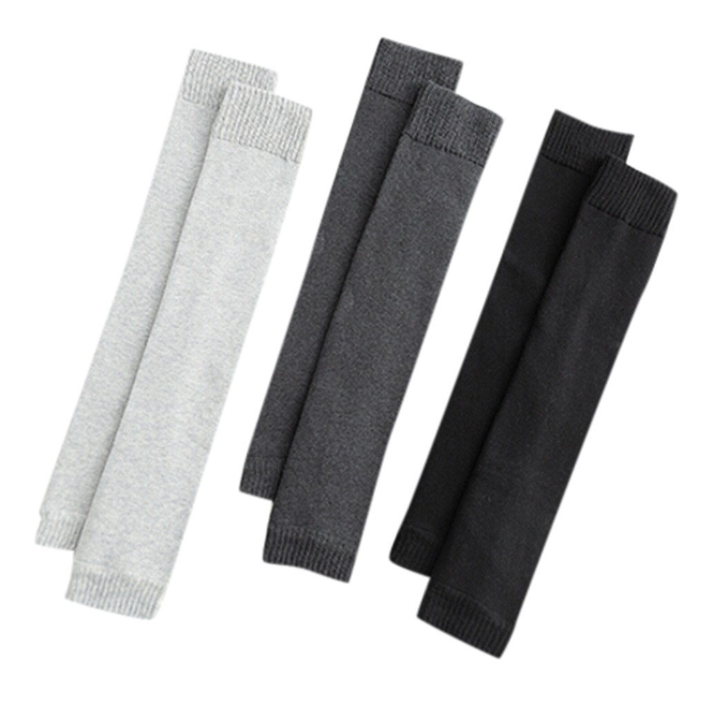 Winter 2020 Men's Thick Legs Warm Legs Velvet Solid Knee Socks Dropshipping Ins Wind Fashion Style Selling Western Style