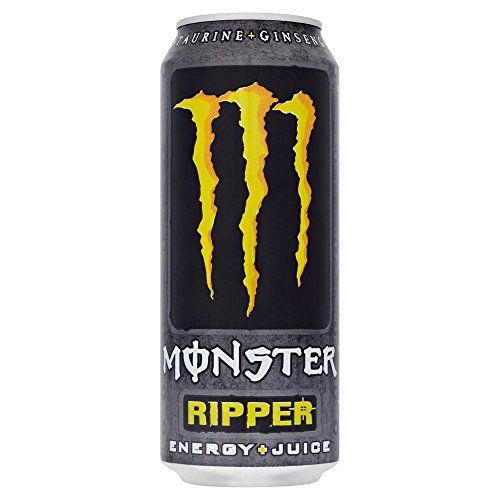 Monster Energy Drink Ripper (500ml) (Confezione Da 6)