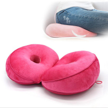 8 цветов, многофункциональная двойная комфортная подушка для сидения с эффектом памяти, подушка-подъемник сидения, красивая латексная подушка для сидения