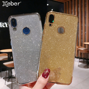 Bling Glitter Silicone Case For Xiaomi 8 9 SE Soft Cover For Redmi 4X 5 7 K20 Plus 6A 7A Note 4 Global Version 5A Prime 6 7 Pro(China)