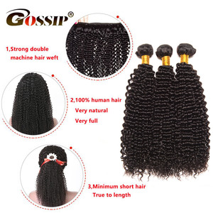 Image 3 - Tissage en lot Afro brésilien 100% naturel Remy, mèches de cheveux crépus bouclés, mèches de cheveux 8 28 pouces