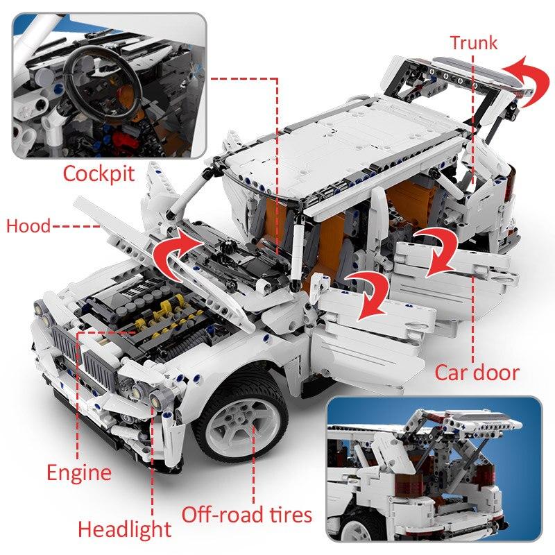 Cada Remote Control Off Road Vehicle 2208PCS