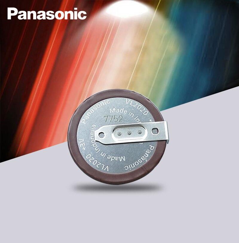 Литиевая Аккумуляторная батарейка Panasonic VL2020, 3 в, 20 мАч, 90 градусов