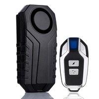 Wireless Anti theft Vibration Alarm 113dB für Xiaomi M365 Elektrische Roller Fahrrad Motorrad Bike Sicherheit Alarm mit Fernbedienung-in E-Bike Zubehör aus Sport und Unterhaltung bei