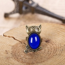 Fashion Jewelry Charms Mood Rings for Women Men Ring Color Change Adjustable Size with Best Handmade Stone