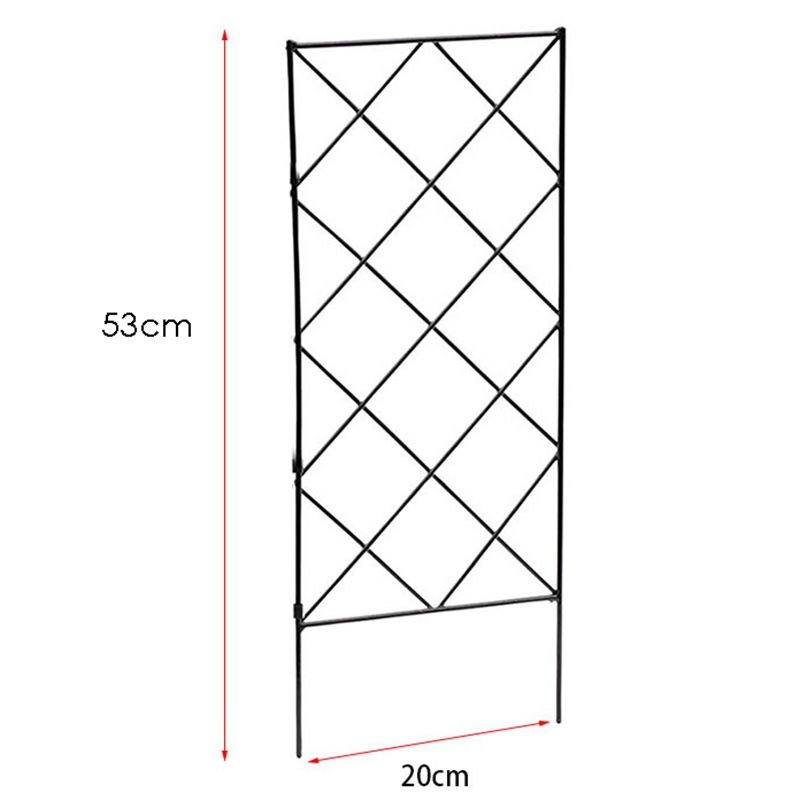 3Pcs DIY Plant Supports for Garden,Trellis for Potted Plants Flower Support for Climbing Plants Easy to Use 20X53cm-3