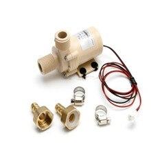 Solar Waterpomp 12V Dc Hot Water Pomp 3M Circulatie Pompe Borstelloze Motor Hogedrukpomp Food Grade pomp G25 Dropship