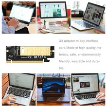 Pro M.2 NVMe SSD NGFF TO PCIE 3.0 X16 X4 Adapter M Key Interface Card Full Speed Adapter Replacement the extension cord of mpcie wireless network card is connected to m 2 nvme m key interface minipice is connected to ngff