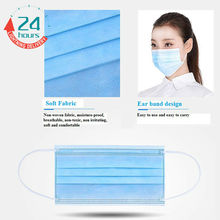 50pcs Health &READY STOCK& Surgical Mask2(3Ply) (Earloop) Type Flu Mask Surgical Mask Anti Dust Face Mask Mouth Mask