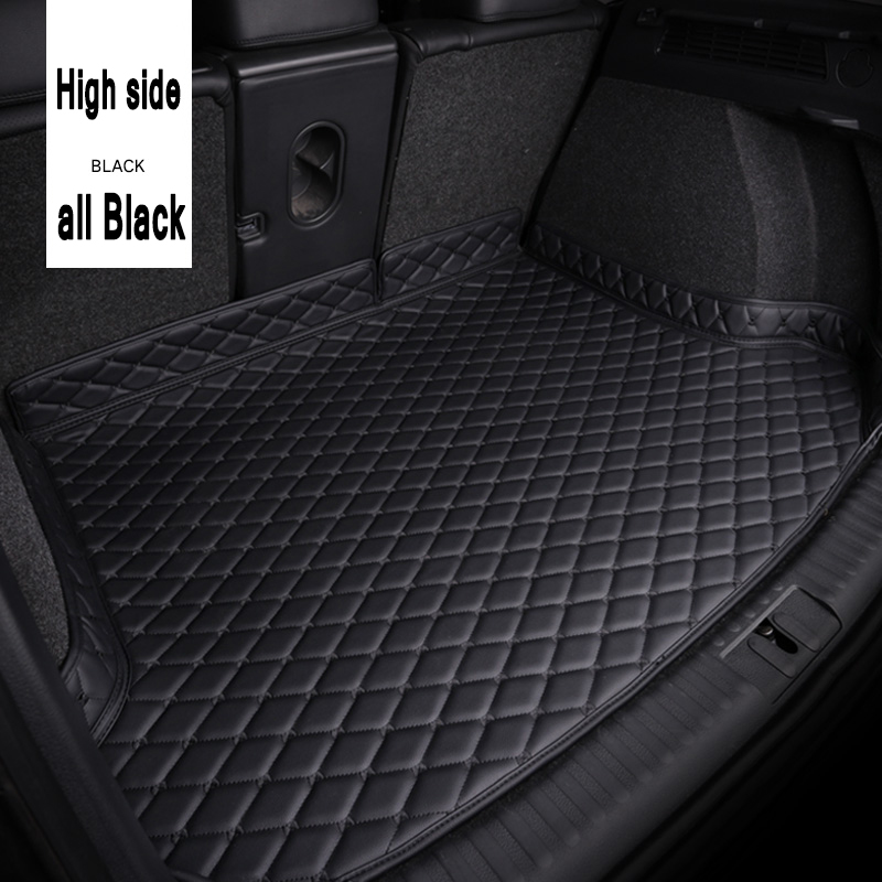 ZHAOYANHUA Car Trunk Mats For BMW	5 Series F10 F11 F07 E39 E60 E61 GT 520i 523i Car Styling Car Accessories Carpet Floor Liner