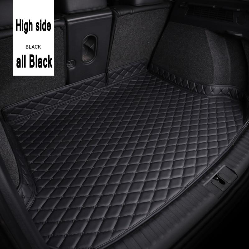 ZHAOYANHUA Car Trunk Mats For BMW5 Series F10 F11 F07 E39 E60 E61 GT 520i 523i Car Styling Car Accessories Carpet Floor Liner