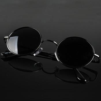 MYT_0256 Retro Round Polarized Sunglasses Men Women Brand Designer Male Female Sun Glasses Metal Frame Eyewear Driving  UV400 johnny depp acetate polarized sunglasses men women vintage luxury brand sun glasses round glasses frame eyewear frame uv400