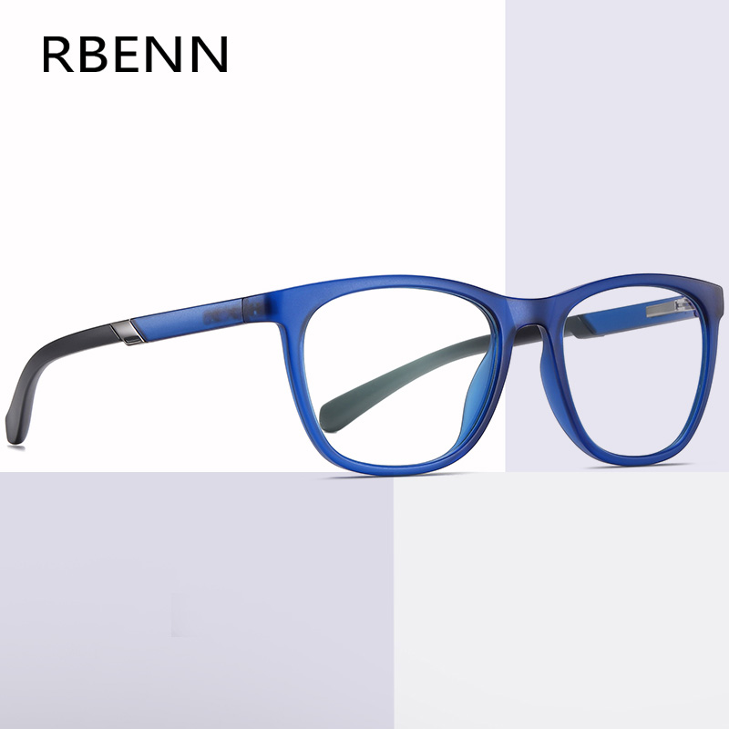 RBENN 2020 New Blue Light Blocking Reading Glasses Men High Quality TR90 Business Anti Blue Light Presbyopia Eyeglasses +1.75