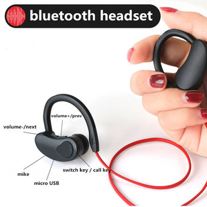 Image 3 - Sports Bluetooth Earphone Wireless Headphones Stereo Headset Earpiece Bluetooth Earbuds HiFI Bass Hands free with mic for ios