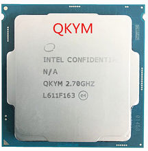Intel I5 7400 ES I5-7400 2.7G QKYM LGA1151 Integrated HD630 graphics card es edition have not show model the same link pricture(China)
