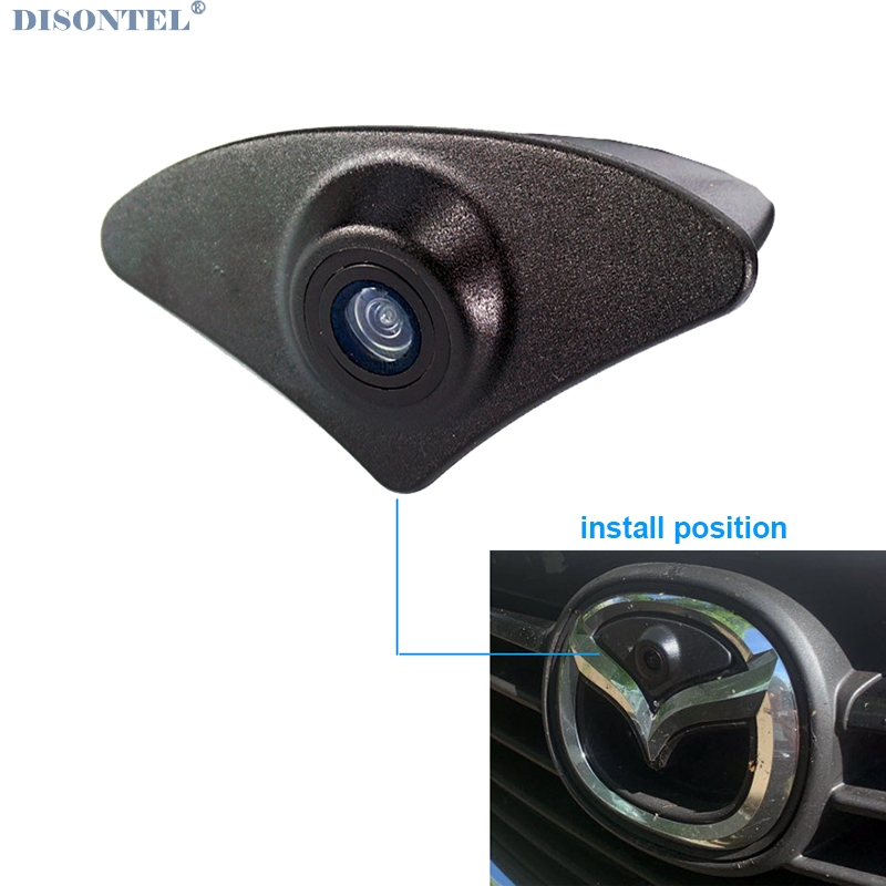 For 2015 2016 Mazda 6 ATENZA  Front View Camera CCd Night Vision Wide View Waterproof Car Front Camera