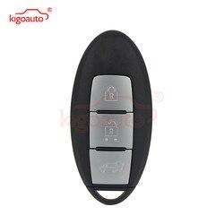 Keyless zdalny inteligentny klucz 3 przycisk 433.9mhz dla Nissan x-trail Qashqai