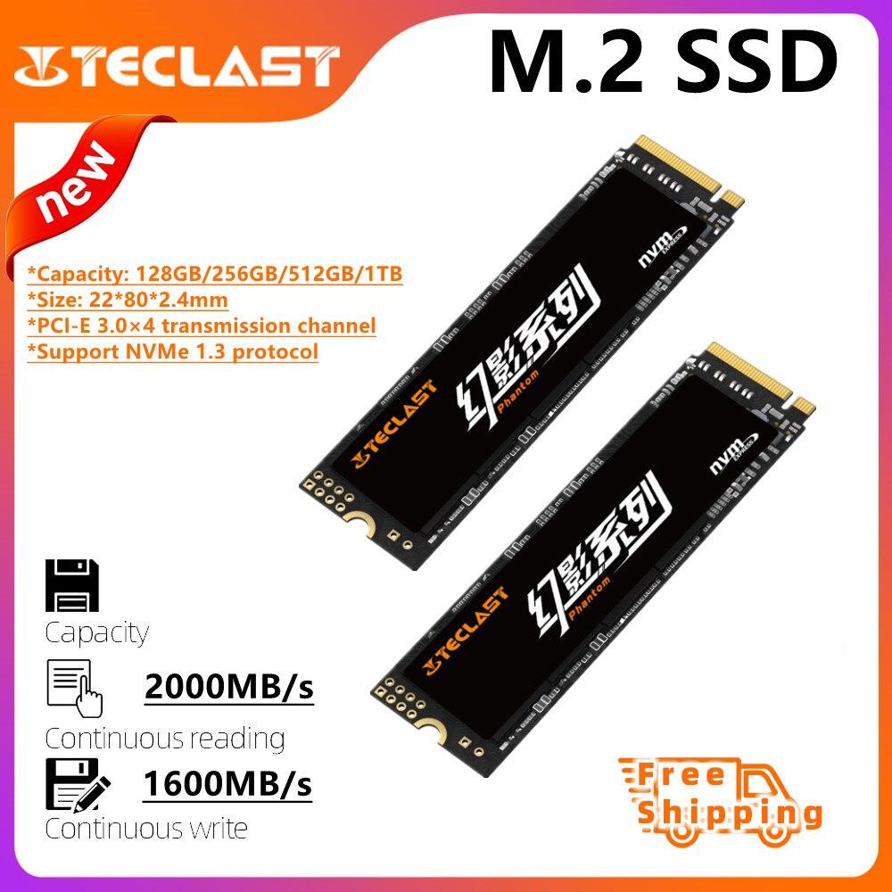 Teclast M.2 2280 SSD 128GB 256GB 512GB 1TB 3D NAND Flash Internal Solid State Drives Gen3 x 4 laptop desktop Internal Storage