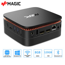 ACEPC AK1 Mini PC Windows 10 minikomputer Intel Celeron J3455 4G 64G 2.5 Cal SSD/mSATA WiFi 4K linux Mini windows pc