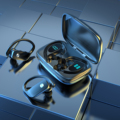 3500 мАч Bluetooth 5,1 наушники спортивные Водонепроницаемый сенсорный Управление наушники светодиодный Дисплей игровой Беспроводной гарнитура С...