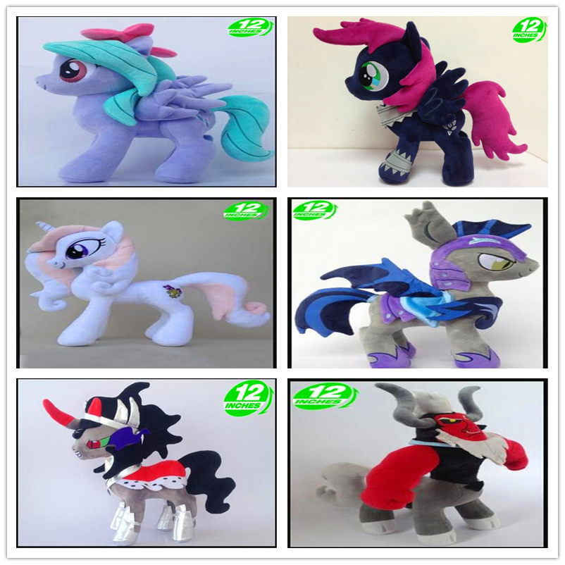 35cm 12 Inches Fan Collection Limited Edition Horse King Sombra Lord Tirek Plush Doll Toy Girls Birthday Gift