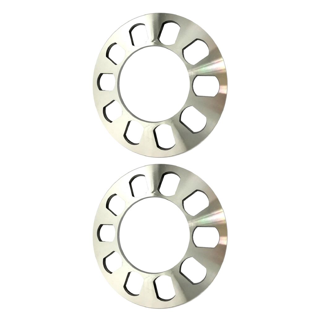 2x Universal <font><b>Wheel</b></font> <font><b>Spacers</b></font> 5 Hole 5mm for 5 lugs <font><b>5x114.3</b></font> 5x120 5x120.7 5x127 image