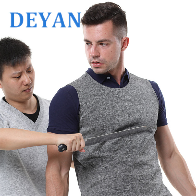 Police And Security Staff Self-defense Stab Proof Vest Anti Cut Tactical Vest Security Equipment Security Clothing