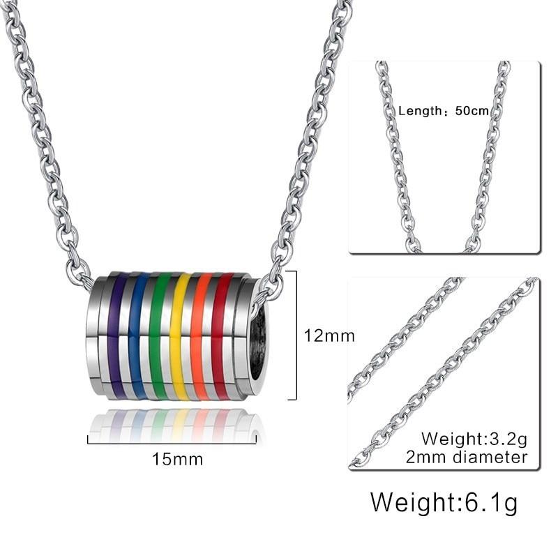 men lgbt necklace (1)