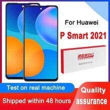 100% ทดสอบ6.67 จอแสดงผล IPS สำหรับ Huawei P สมาร์ท2021 PPA LX2 LCD Touch Screen Digitizer Assembly สำหรับ Honor X10 lite/Y7A LCD