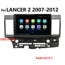 For Mitsubishi Lancer 10 CY 2007-2012 Car Radio Multimedia Video Player Navigation GPS Android 9.1 No 2din 2 din dvd Bluetooth(China)