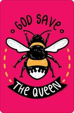 Металлический знак Бог спасение королевы бар семейный ресторан