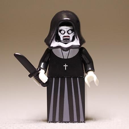 American Horror Movie The Nun Valak Blocks Toys