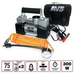 Compresor coche 75 L/min AVS KS750D compresor de aire para coche motocicleta