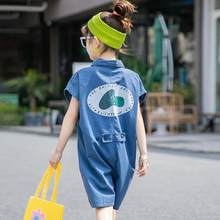 2020 Newest Summer Toddler Kids Clothes Girls Denim Pants Romper Jumpsuit Playsuit Outfits Children Clothing Jeans Overalls 9 12(China)
