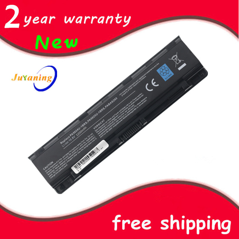 New 6 cells Laptop <font><b>Battery</b></font> PA5108U-1BRS PA5109U-1BRS PA5110U-1BRS For <font><b>Toshiba</b></font> C40 C45 C50 <font><b>Satellite</b></font> <font><b>C55</b></font> C70 C75 series image